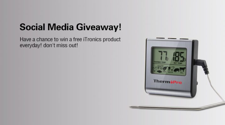 ThermoPro Social Media Giveaway