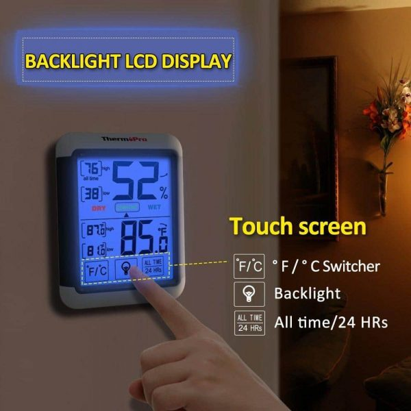 ThermoPro TP-55 Touchscreen