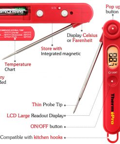 ThermoPro TP-03 Digital Instant-Read Thermometer