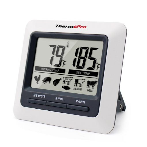 ThermoPro TP-04 Thermometer LCD Display