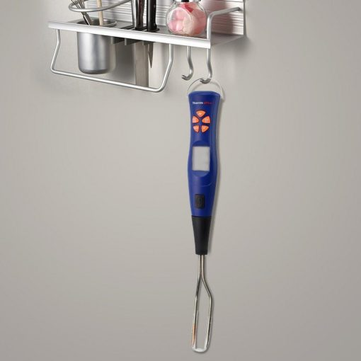 ThermoPro TP-05 Thermometer Hanging from Kitchen Hooks