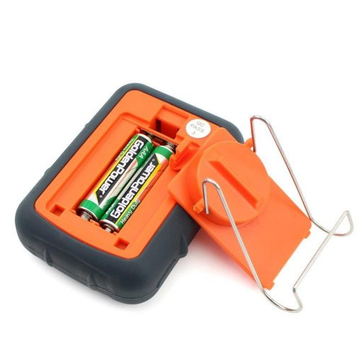 ThermoPro TP-08 Thermometer Rear View Transmitter Battery Cover Removed