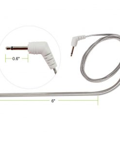 TPW02 Stainless Steel Replacement Food Probe Dimensions