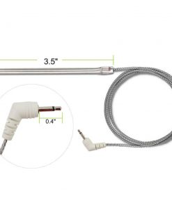 TPW04 Stainless Steel Replacement Temperature Probe Dimensions