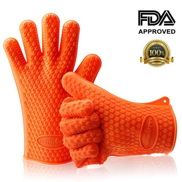 ThermoPro TP-100 Oven Mitts FDA Approved