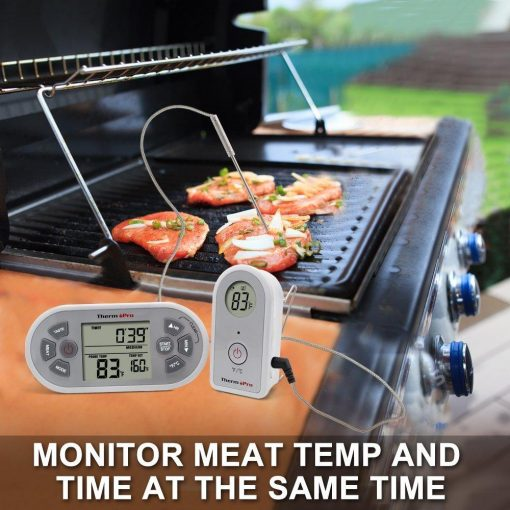 ThermoPro TP21 Monitor Both Meat Temp and Time