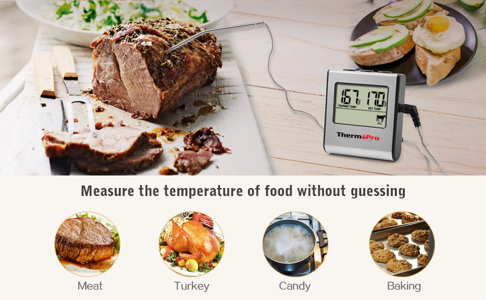 Measure Food Temperature without guessing