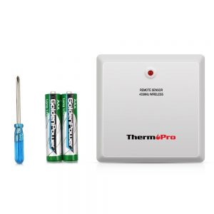 ThermoPro TP60 Indoor Outdoor Replacement Sensor Package Contents