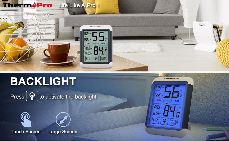 ThermoPro TP-55 Temperature Humidity Monitor