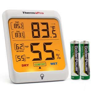thermopro with batteries