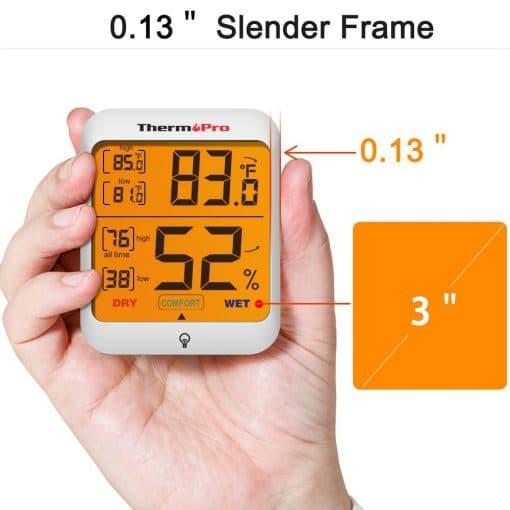 slender frame