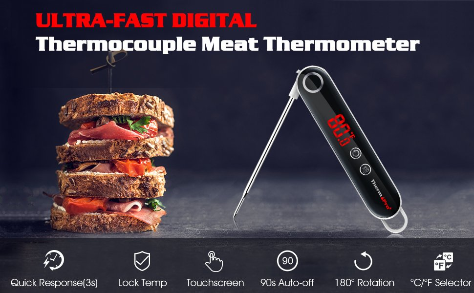ThermoPro Instant-read Meat Thermometer