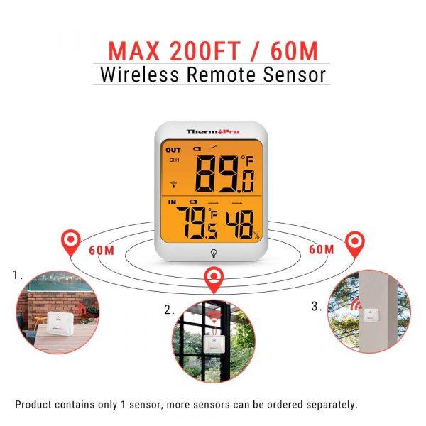 wireless remote sensor