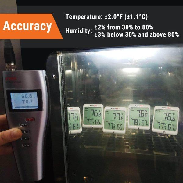 temperature accuracy