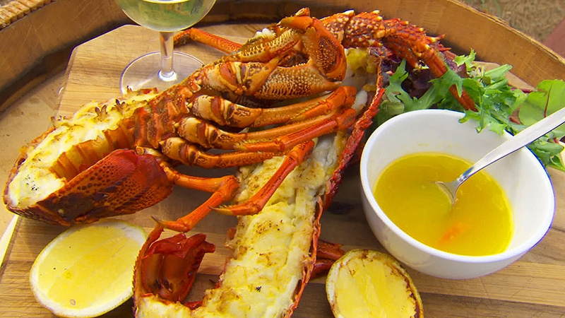 Lobster-with-Tomalley-Butter-and-Grilled-Lemon