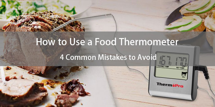 How to use food thermometer properly