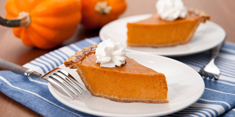 Smooth Silky Pumpkin Pie