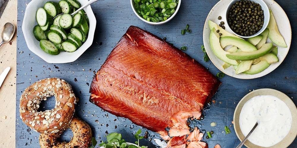 best smoked salmon recipe ingredients