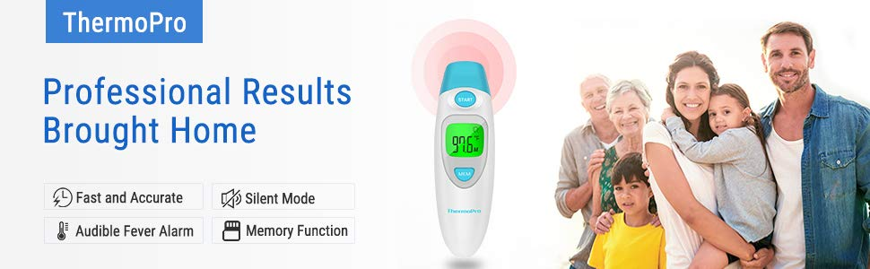 ThermoPro TP121 Ear Thermometer Banner