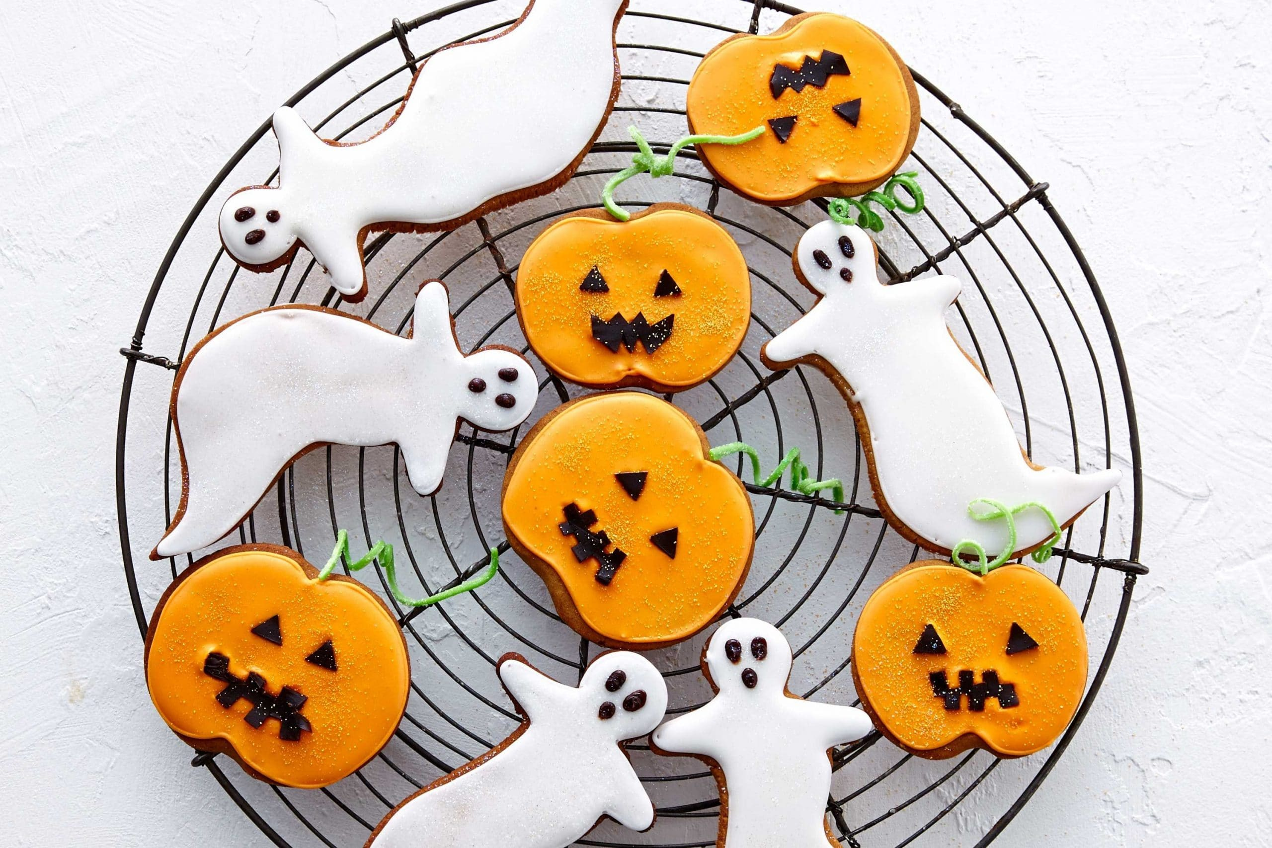 halloween cut out sugar cookies
