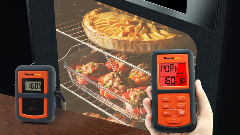 use thermopro to monitor oven temperature