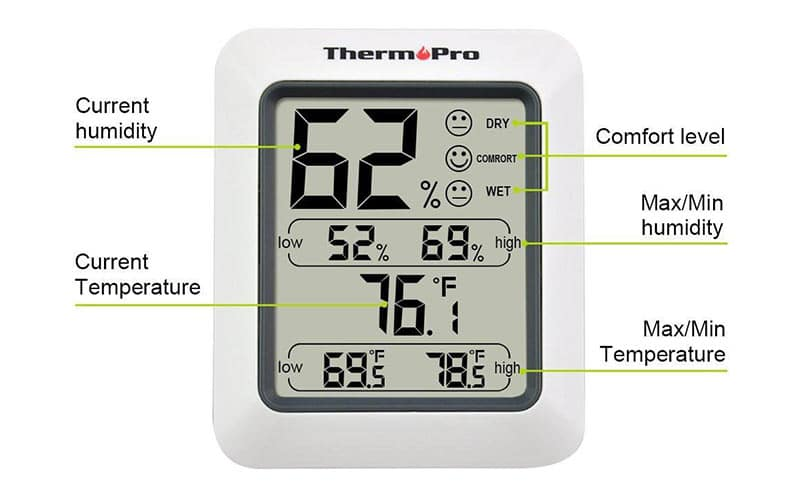 ThermoPro-TP-50-Home-Weather-Station-Settings