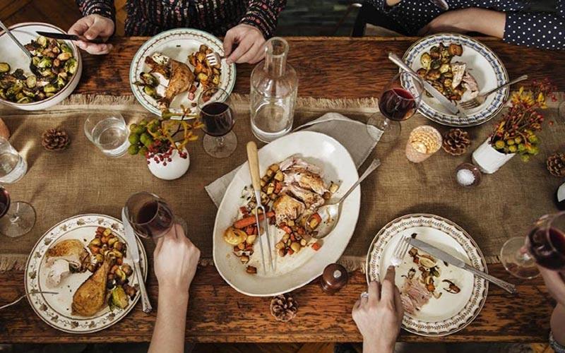 big thanksgiving meals