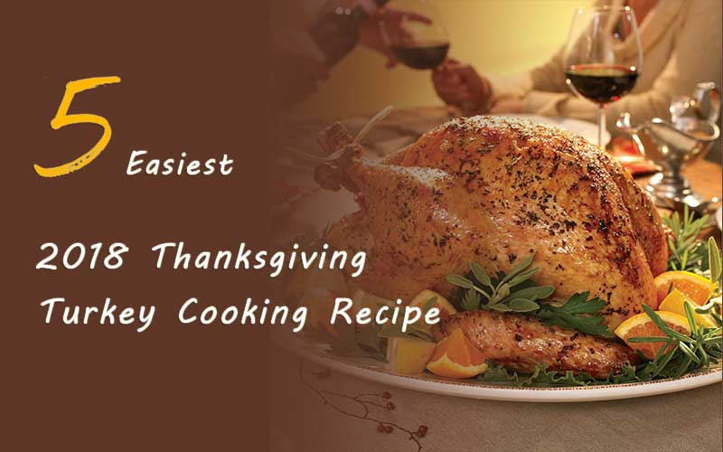 5 easy way to cook thanksgiving turkey