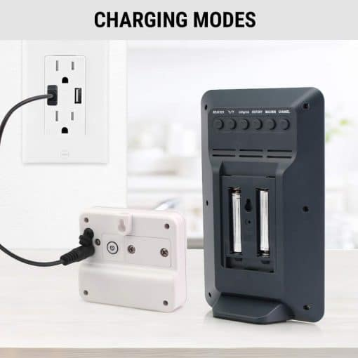 weather station charging modes
