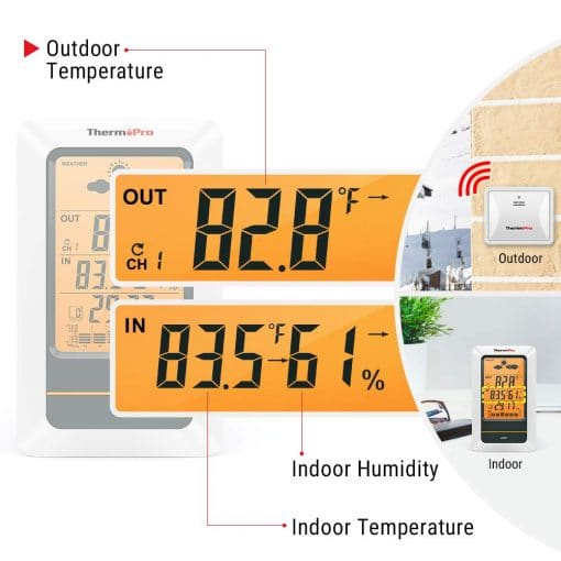 thermometer reading details