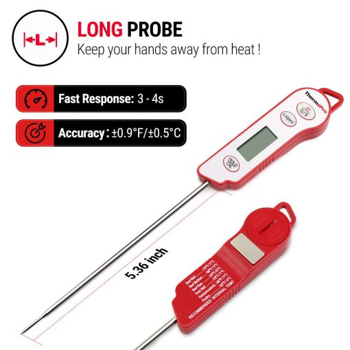 long probe thermometer