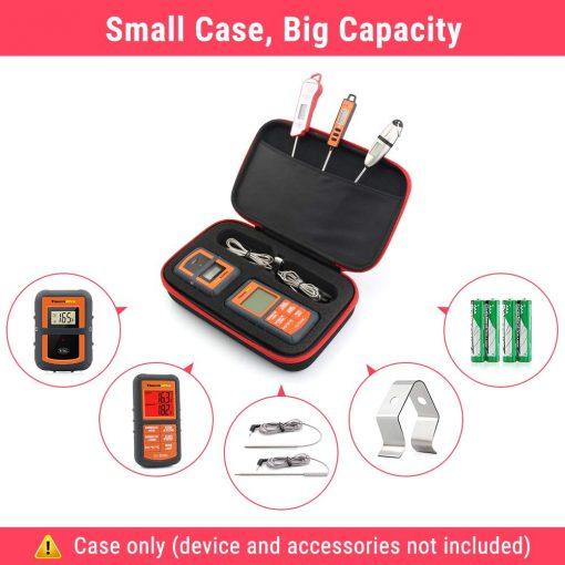 thermopro storage case capacity