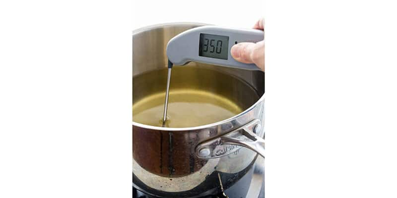 digital thermometer temp fry oil