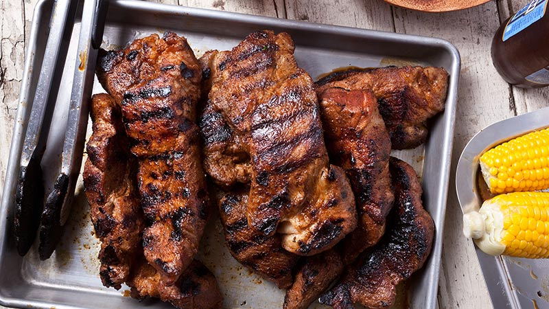 BBQ prok ribs