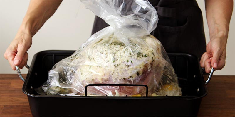 chicken in an oven bag