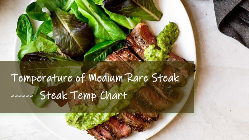 medium rare steak temp chart