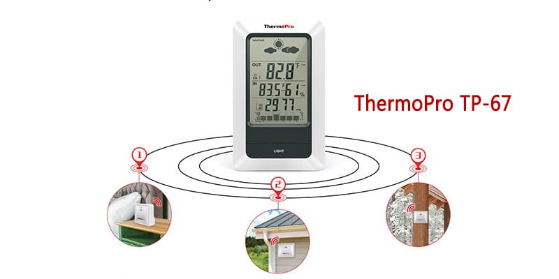 ThermoPro tp-67 home weather station