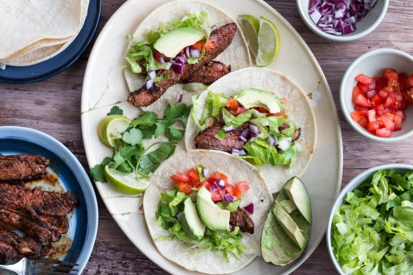ThermoPro Recipe Flank Steak Fajitas