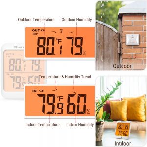 ThermoPro TP63A Digital Thermometer Wireless Hygrometer 2