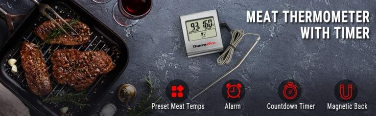 Meat Thermometer with Timer