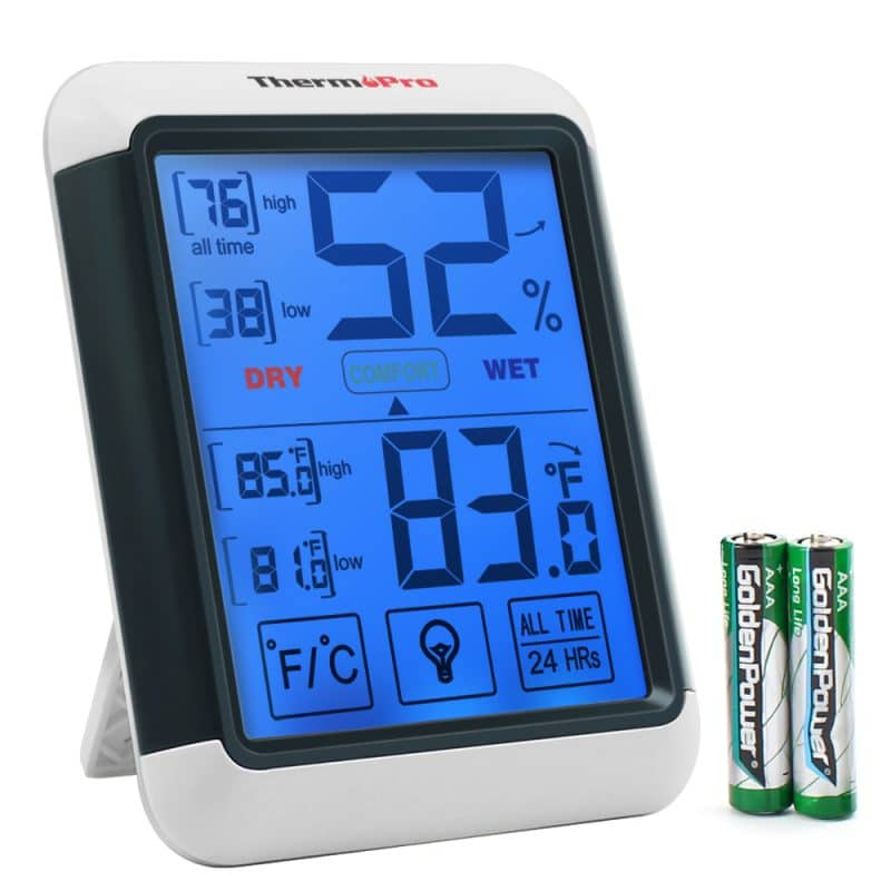 ThermoPro TP-55 Digital Indoor Temperature and Humidity Monitor Hygrometer