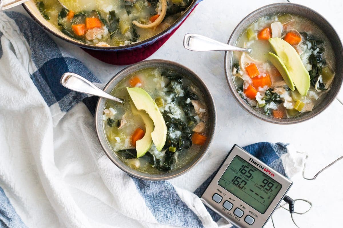 ThermoPro Recipe Chicken Soup