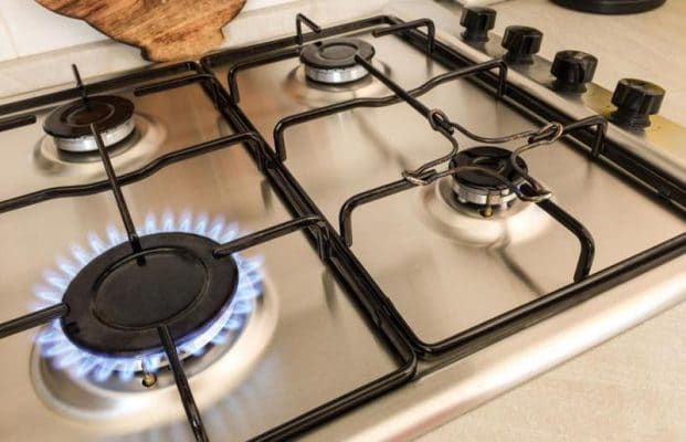 how to clean gas grill burner