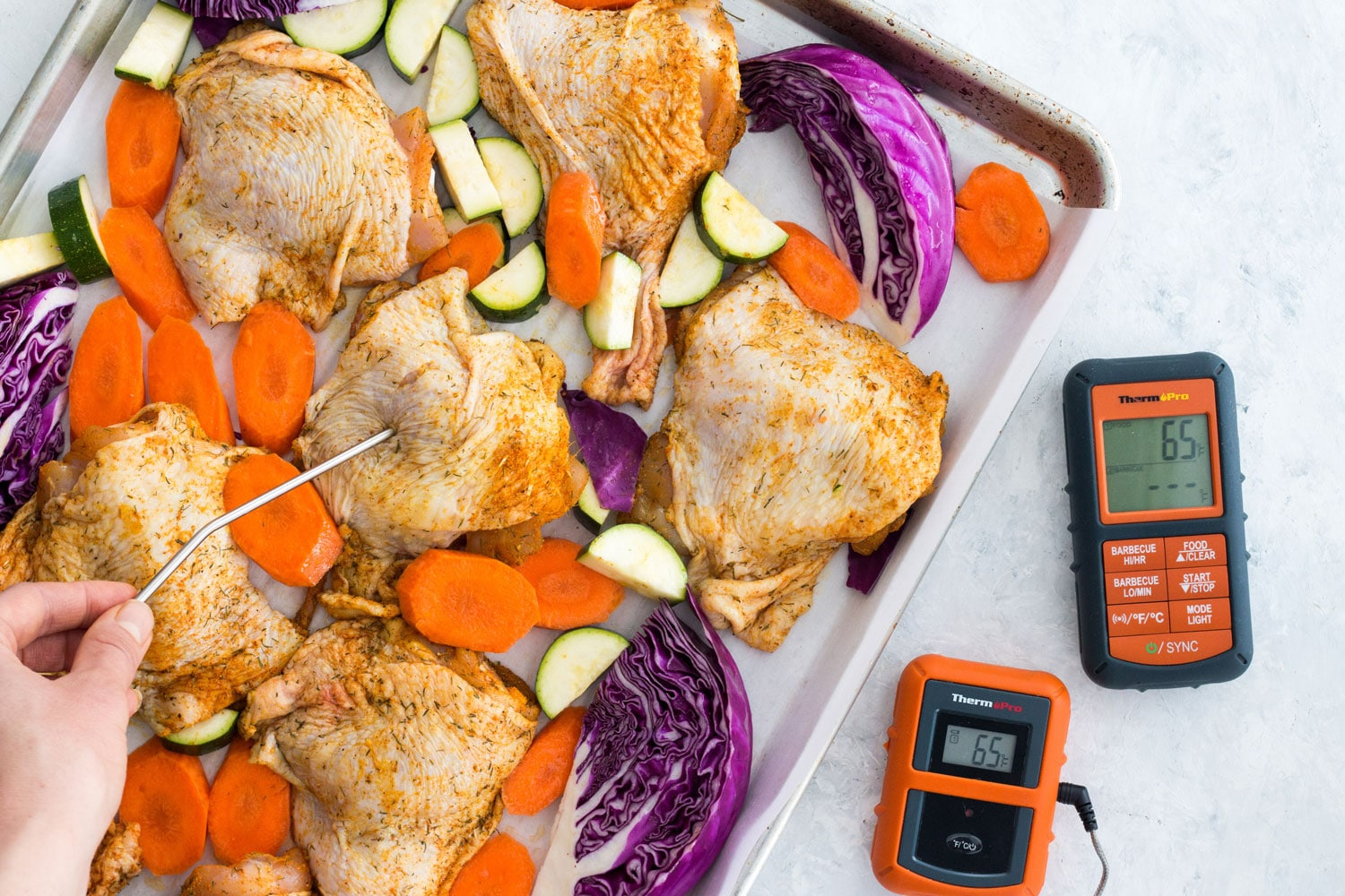One Pan Turmeric Chicken Vefetables 2