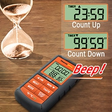 ThermoPro Thermometer Time Setting