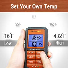 ThermoPro Thermometer Temp Setting