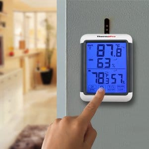 ThermoPro TP-55 Digital Wireless Hygrometer