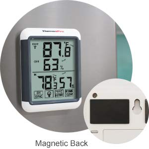 ThermoPro Hygrometer Magbetic Back