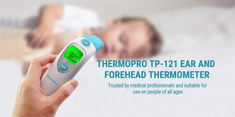 how to clean thermopro ear thermometer