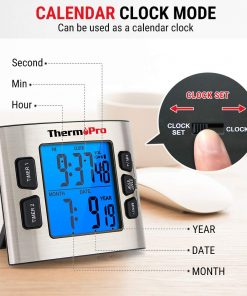 ThermoPro Timer Calendar Clock Mode